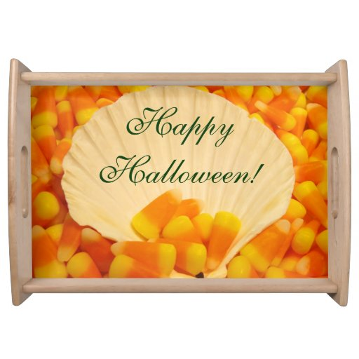 Halloween heureux ! partie de bonbons au maïs à
