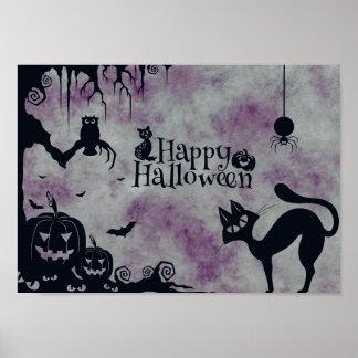 Halloween heureux poster