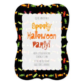 Halloween heureux, Samhain et Dia de los Muertos Carton D'invitation 12,7 Cm X 17,78 Cm
