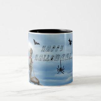 Halloween heureux ! tasses à café
