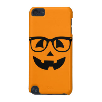 Halloween Hipster Pumpkin Pattern iPod Touch 5G Cover