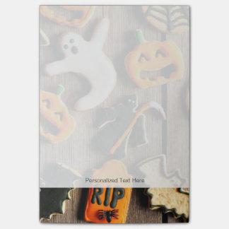 Halloween Homemade Gingerbread Cookies Post-It Note