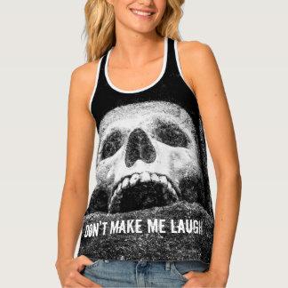 Halloween Horror Skull Tank Top