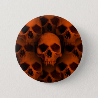 Halloween horror skulls 2 inch round button