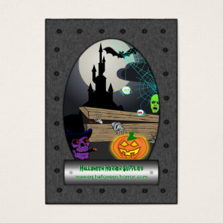 Halloween Horror Supplies - Ghostly Ghoulish Gear Business Card