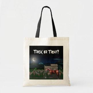 Halloween Horse Tote Bag