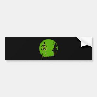 Halloween House Bumper Sticker