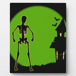 Halloween House Plaque