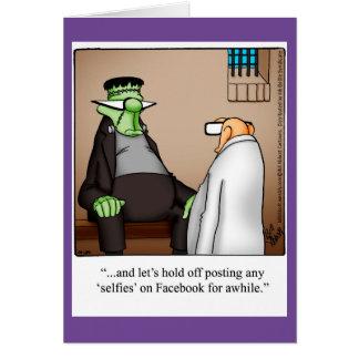 Halloween Humour Greeting Card For Halloween