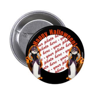 Halloween Hussy / Halloween Cat 2 Inch Round Button
