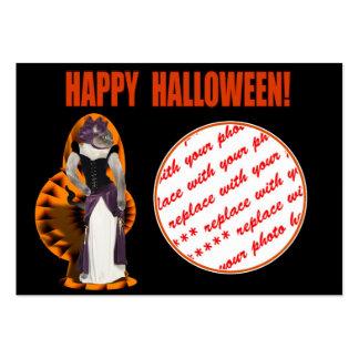 Halloween Hussy Halloween Cat Business Cards