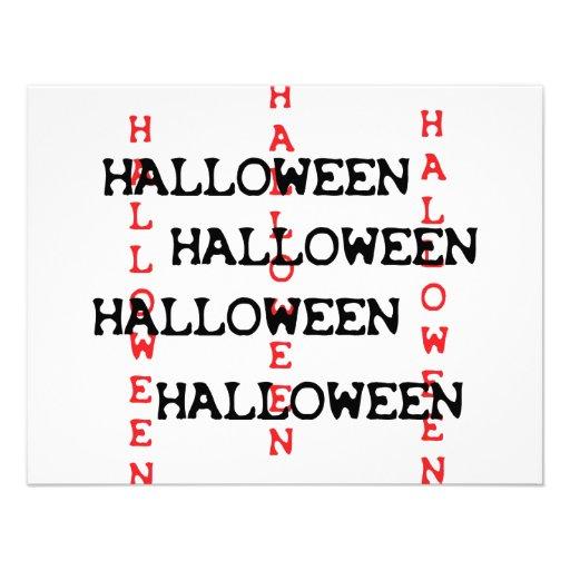 halloween icon personalized invites