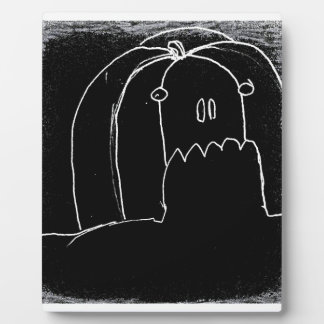 halloween in black parade yaie plaque