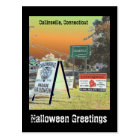 Halloween in Collinsville Postcard