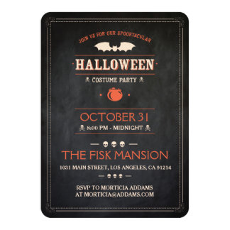 Halloween Invite: Spooktacular - Customizable Card