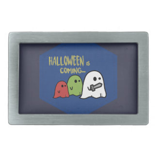 Halloween is coming belt buckle