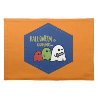Halloween is coming place mat