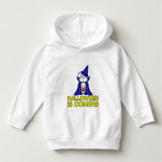 Halloween is Coming rabbit pumpkin candy witch Hoodie
