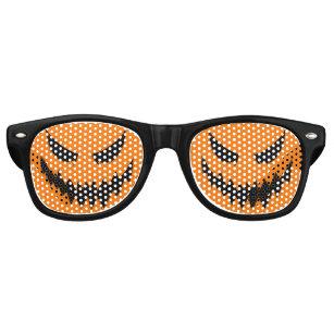 7cba9a2efa71 Halloween Jack-O-Lantern Costume Glasses