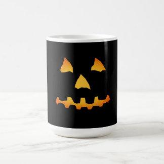 Halloween: Jack-o-Lantern Face: Classic White Coffee Mug