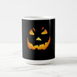 Halloween: Jack-o-Lantern Face: Coffee Mug