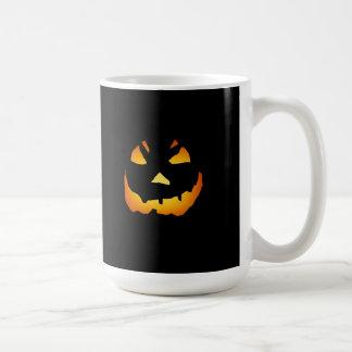 Halloween: Jack-o-Lantern Face: Coffee Mugs