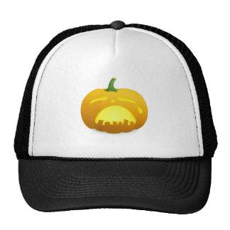 Halloween Jack-O-Lantern Mesh Hat