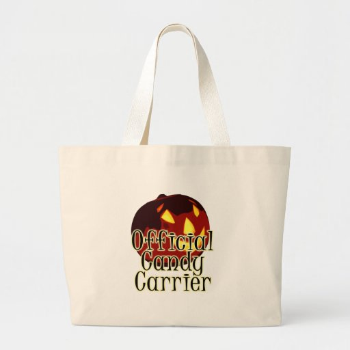 Halloween Jack O Lantern Official Candy Carrier Bags