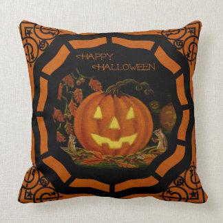 Halloween Jack-O-Lantern pillow