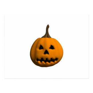 Halloween: Jack-o-Lantern: Postcard