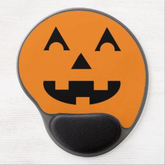 Halloween Jack O Lantern Pumpkin Face Gel Mouse Pad