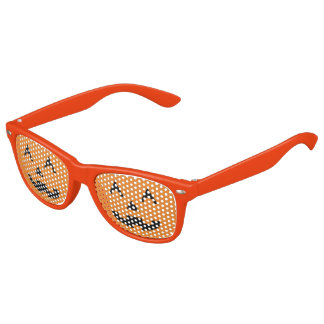 Halloween Jack O Lantern Pumpkin Face Sunglasses