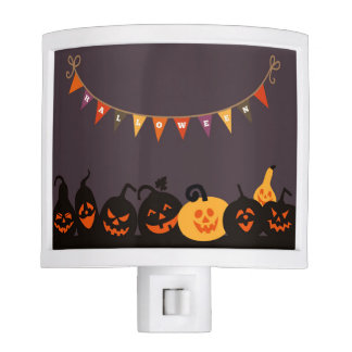 Halloween Jack-O-Lantern Pumpkin Night Light