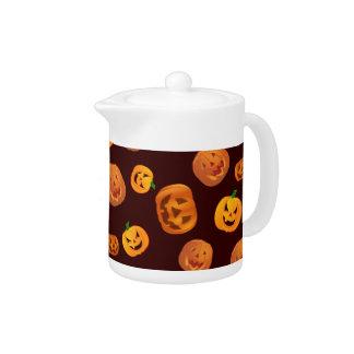 Halloween Jack-O-Lantern Pumpkin Pattern