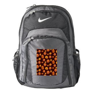 Halloween Jack-O-Lantern Pumpkin Pattern Backpack