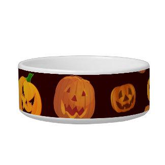 Halloween Jack-O-Lantern Pumpkin Pattern Bowl