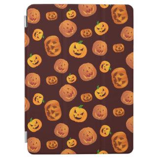 Halloween Jack-O-Lantern Pumpkin Pattern iPad Air Cover