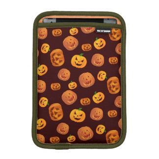 Halloween Jack-O-Lantern Pumpkin Pattern iPad Mini Sleeve