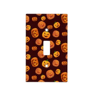 Halloween Jack-O-Lantern Pumpkin Pattern Light Switch Cover
