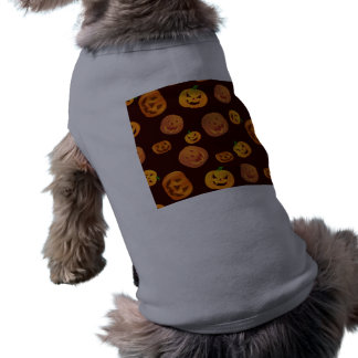 Halloween Jack-O-Lantern Pumpkin Pattern Shirt