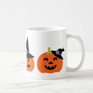 Halloween Jack O Lantern Pumpkins Faces Mug