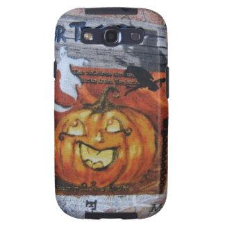 Halloween Jack O' Lantern Samsung Galaxy SIII Cover