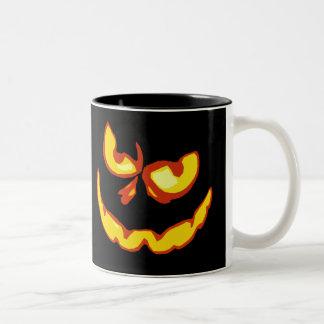 Halloween Jack O Lantern Scary Face Mugs