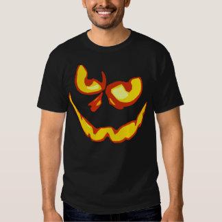 Halloween Jack O Lantern Scary Face Tee Shirts
