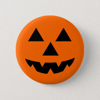 Halloween Jack-O-Lantern Trick or Treat 2 Inch Round Button