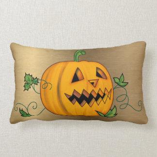 Halloween Jack o'Lantern Lumbar Pillow