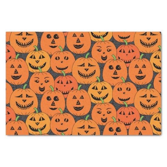 Halloween Jack o'lantern Pumpkin Tissue Paper