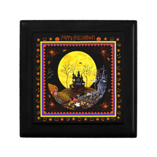 Halloween jewellery box trinket boxes