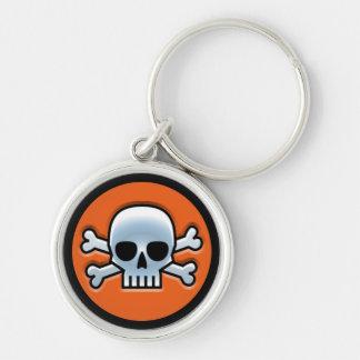 Halloween 'Jolly Roger' Keychain