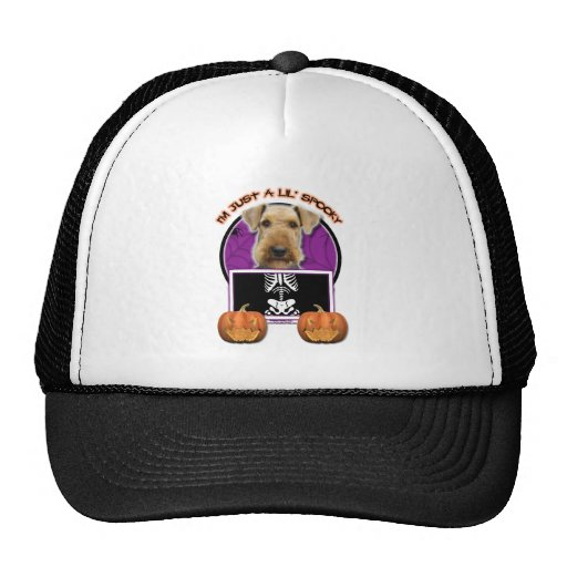 Halloween - Just a Lil Spooky - Airedale Hats